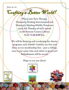 HH STREETteam & the Yarn Therapist - Crafting a Better World