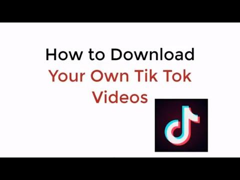 Download tik tok videos without watermark online