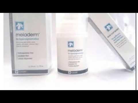 meladerm skin whitening cream
