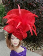 Red Hatinator Headpiece