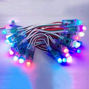 DC 5V 50PCS WS2811 RGB Full Color 12mm Pixels digital Addressable LED String Lights