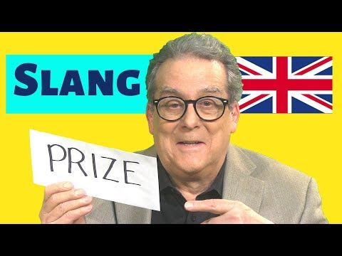 British Slang Words Quiz