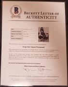Ringo Starr signed photo Beckett Authentication