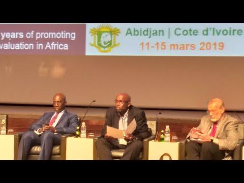 9ème Conférence de l'AfrEA : Prof.  Alban AHOURE, panéliste lors de la conférence inaugurale