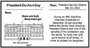 Obama Likes Guns Around Him...But Not You!