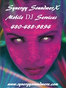 Light Girl DJ with Text