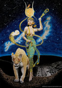 Hathor__The_Golden_One_by_sekhmet_the_flame