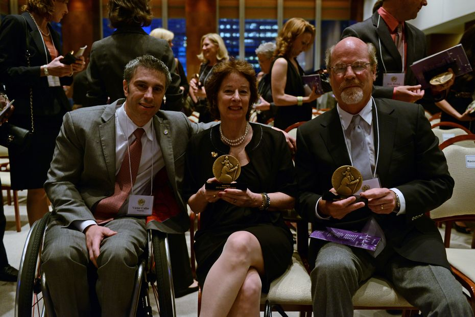 Judith at the Christopher Awards 5.23.13