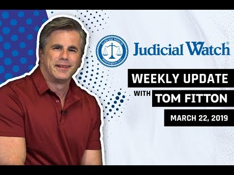 Tom Fitton's Weekly Update: Reactions to the #MuellerReport, MORE Classified Clinton Emails, & More!