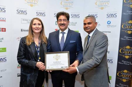 Sandeep Marwah Honored at BBC Leicester