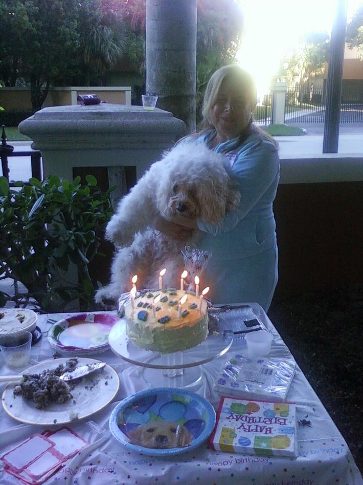 Beau's birthday party 001