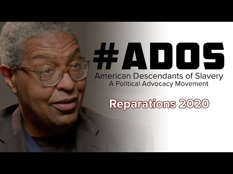 #ADOS - Dr. William Darity on Reparations March 2019