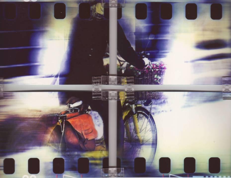 Floral bicycle