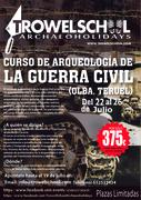 Curso de arqueologia de la Guerra Civil