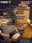 Inventario cerámico: Introducción al ánalisis y registro de materiales arqueológicos. - Presencial