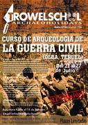 CURSO DE ARQUEOLOGÍA DE LA GUERRA CIVIL EN OLBA, TERUEL.