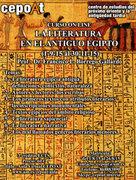 La literatura en el Antiguo Egipto - on line