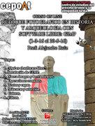 Retoque fotográfico en Historia y Arqueología con software libre: GIMP. - On Line. (1-3-16 al 31-5-16)