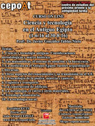 Ciencia y tecnología en el Antiguo Egipto - On Line (1-6-16 al 30-8-16)