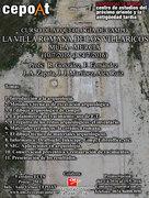 Curso de arqueología de campo: la villa romana de los Villaricos (10/7/2016-24/7/2016)
