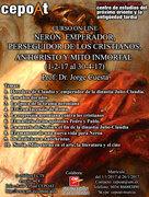 Nerón: Emperador, perseguidor de los Cristianos, Anticristo y Mito Inmortal. - on line (01/02/2017 - 30/04/2017)