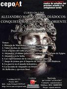 Alejandro Magno y los Diádocos: conquista macedónica de Oriente - on line (01/05/2017 - 30/07/2017)