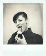 Martina with Cupcake