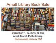 Arnett Branch Library Book Sale