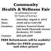 Community Health and Wellness Fair