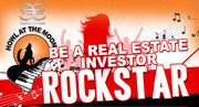 Be a Real Estate Investor Rock Star - Join us at Howl at The Moon