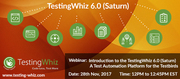 Introduction to the TestingWhiz 6.0 (Saturn) - A Test Automation Platform for the Testbirds
