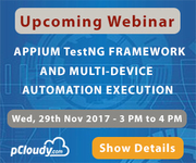 Webinar: Appium TestNG Framework and Multi-Device Automation Execution