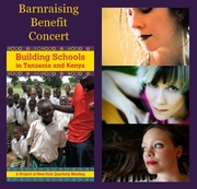 Benefit Concert to build schools in Tanzania and Kenya