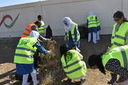 Clean up drive - Students, Faculty and Dean