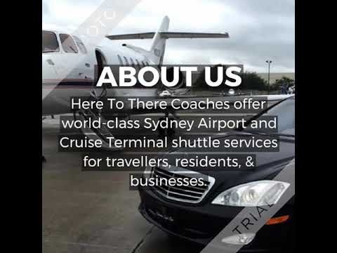 Airport Shuttle Services - Here To There Coaches
