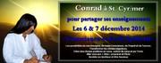 stage Conscience et eveil spirituel à ST. Cyr sur Mer les 6&7 decembre