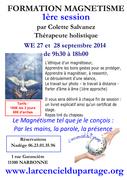 Formation magnétisme 1ère session par Colette Salvanez, Thérapeute holistique