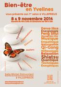 Salon bien-être les 8 et 9 novembre 2014 - Villepreux