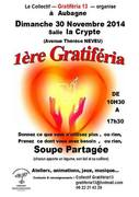 1ere gratiferia à Aubagne le dimanche 30 Novembre 2014