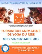 Devenez animateur de yoga du rire ! 5 & 6 novembre 2016