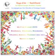 Stage Biodanza-Couleur, Vivre en couleur et en harmonie
