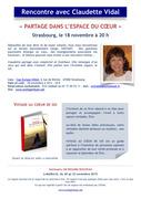 Rencontre avec Claudette Vidal