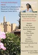 Voyage initiatique Israël