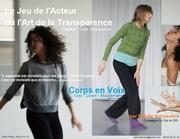 le jeu de l'acteur ou l'art de la transparence (théâtre-voix-mouvement)