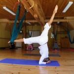 Weekend yoga swing Drôme Provençale mai 2017