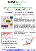 conférence La PNL