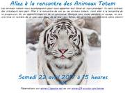 Voyage vers les Animaux Totem