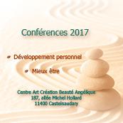 Conférence de développement personnel et mieux être