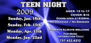 Teen Night @ Peabody's