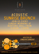 Acoustic Brunch at Burton's Grill